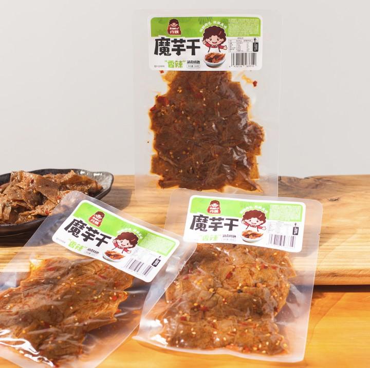 丹姨魔芋干100克 代餐休闲麻辣零食湖南冷水江新化魔芋豆腐小包装
